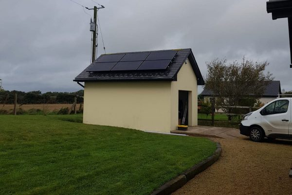 Solar PV and Battery Storage dm electrical wexford